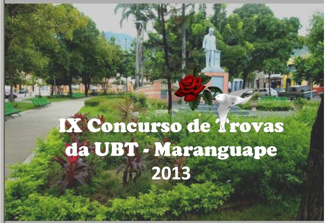 Concurso de Trovas da UBT-Maranguape 2013 (Resultado Final) 2a.Parte