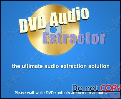 DVD Audio Extractor 6.2.0 Extrae el Audio directamente desde el DVD