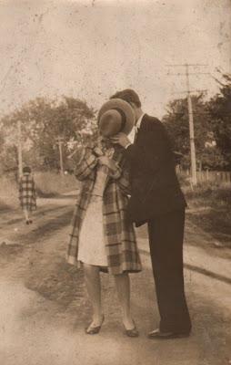 vintage boy and vintage girl