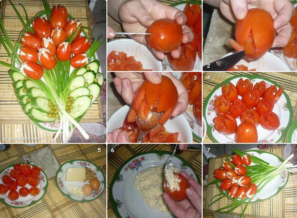 Украшению блюд своими руками с фото пошаговое