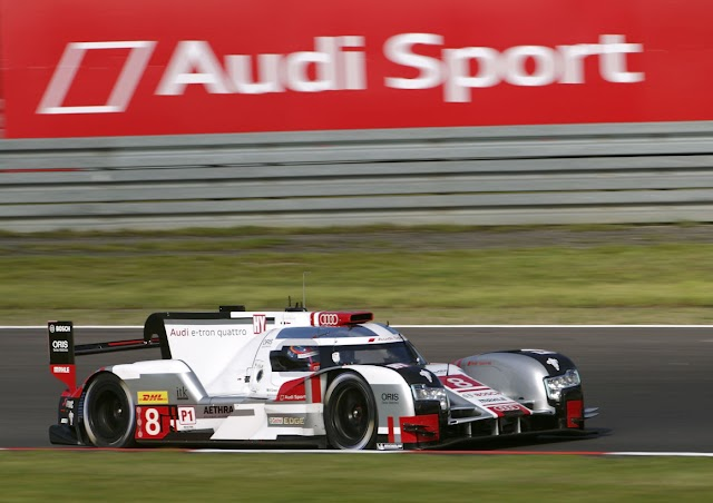 FIA WEC: Audi will start from the second row at the Nürburgring