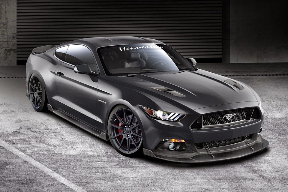 Mustang hennessey guys are not satisfied with the 435 bhp 2015 mustang