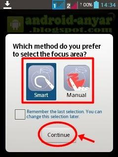 Cara Menambah Efek Fokus pada Foto di Android