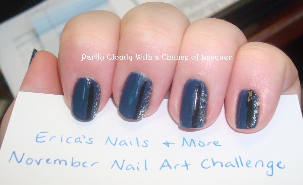 Lacquer November Nail Art