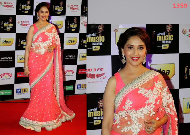 1359-Bollywood actress Madhuri Dixit at the 6th Mirchi Music Awards 2014 in Mumbai1