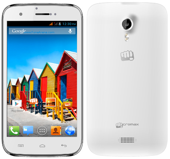 Micromax Canvas 3D White