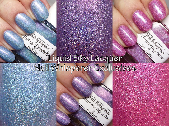 Liquid Sky Lacquer Nail Whisperer Exclusives