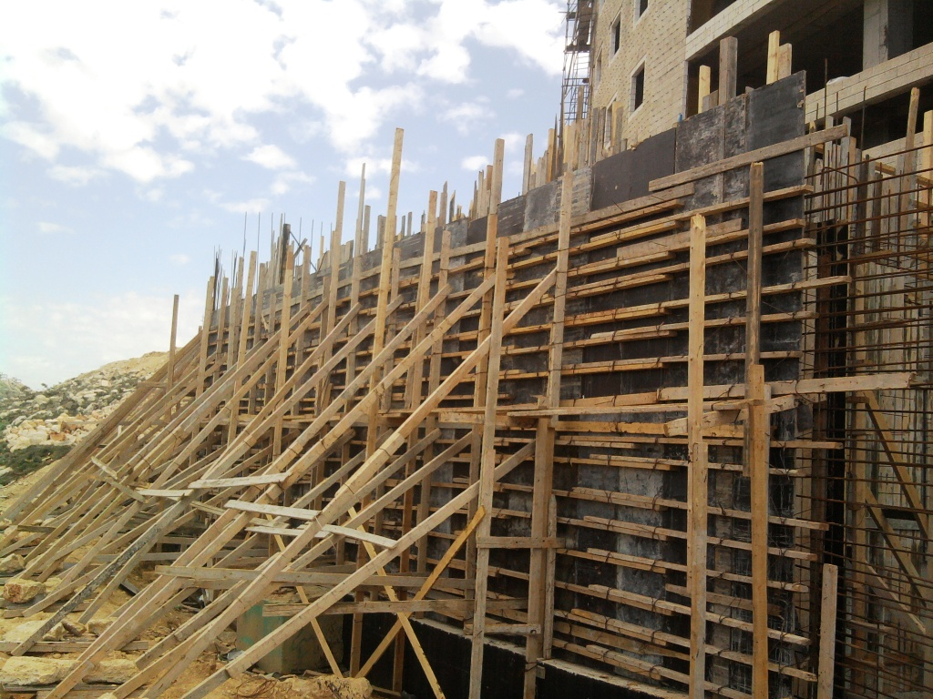 Design Of Concrete Wall Formwork : Construction and architecture different types of formwork