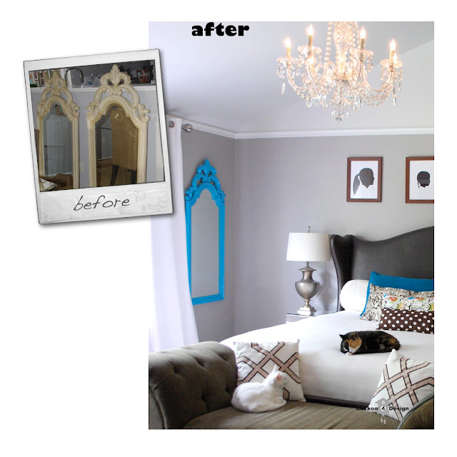 mirror makeover by cuckoo4design