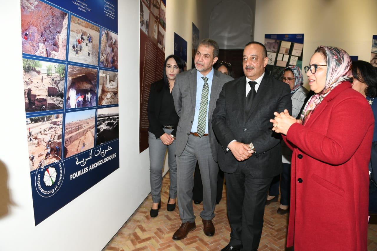 حفل افتتاح المعرض التراثي حول جرد التراث المغربي