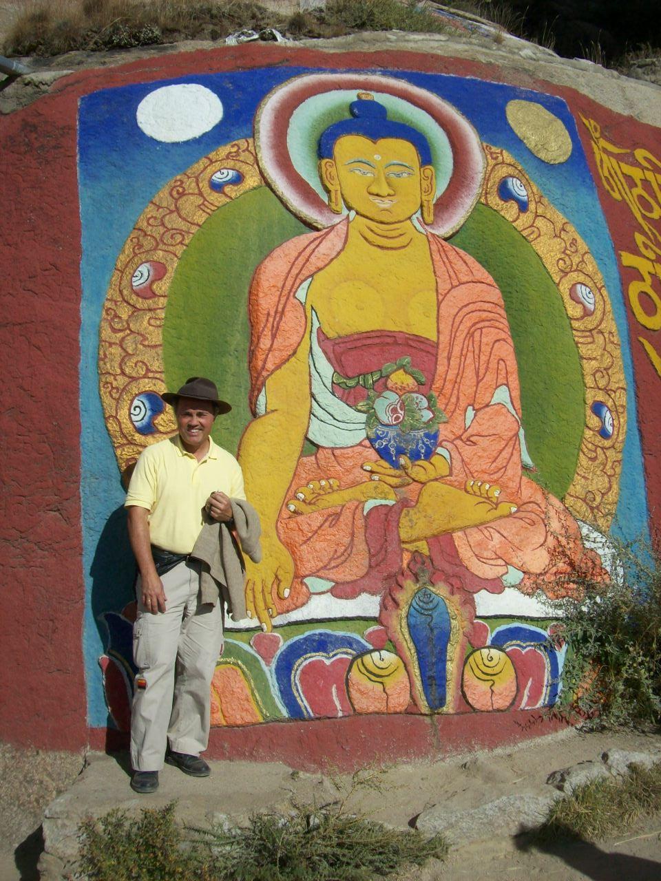 Sixto en el Tibet