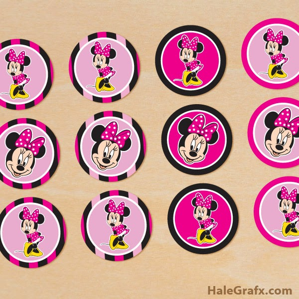 Minnie: Kit para Imprimir Gratis. | Ideas y material gratis para ...