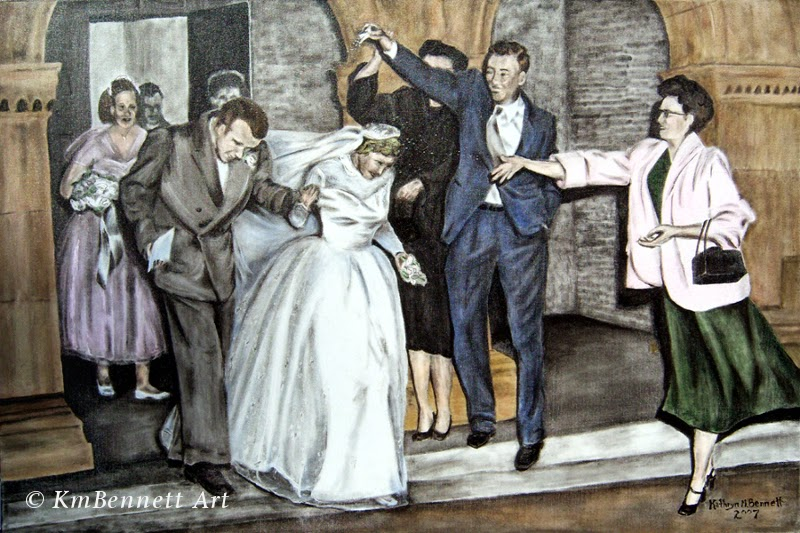 Painting: Wedding Party 01