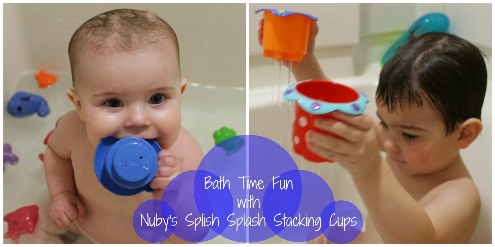 Bath Time Fun with Nuby