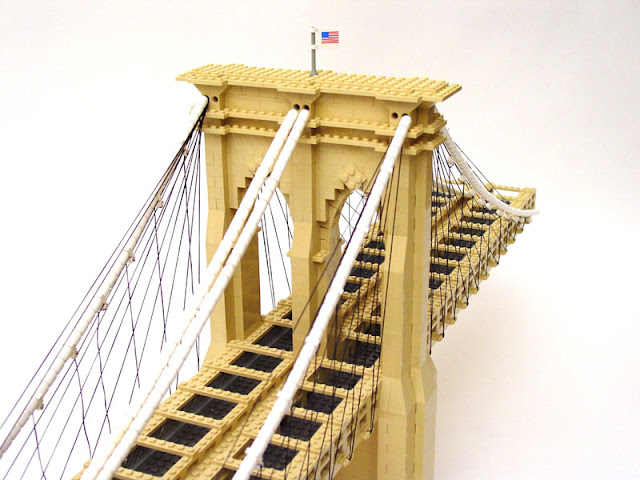 Brooklyn,Bridge,puente,Lego,escultura,sculpture,new york,Nathan Sawaya