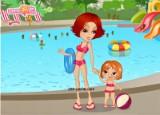 لعبة تصميم ملابس السباحة