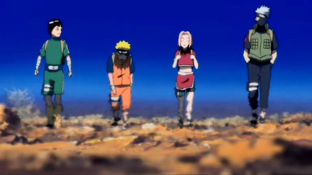 Naruto Movie 3 Cresent of Moon Land