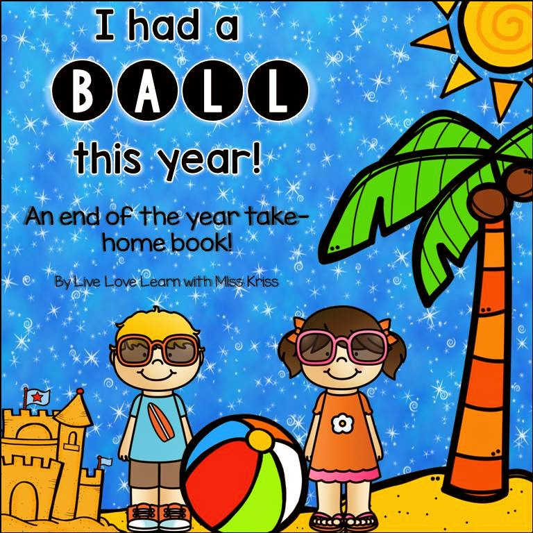 https://www.teacherspayteachers.com/Product/I-Had-a-Ball-This-Year-an-end-of-year-book-1807717