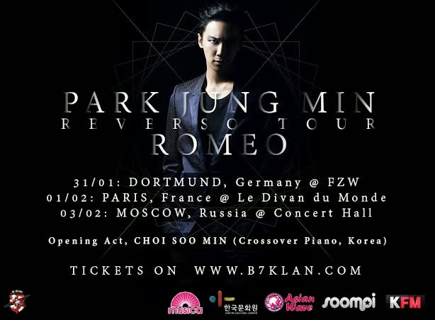 [INTERVIEW] Interview avec Park Jung Min