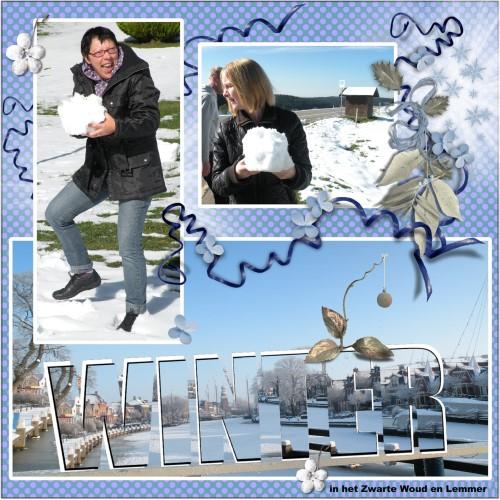 Winter pret in het Zwarte Woud en Lemmer