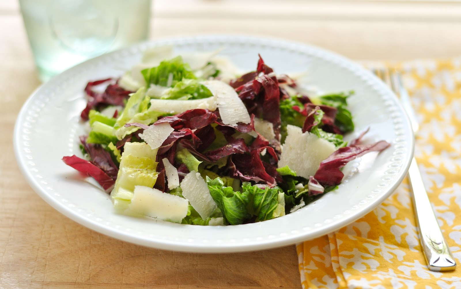 Good Thymes and Good Food: Quick & Easy Caesar Vinaigrette Salad