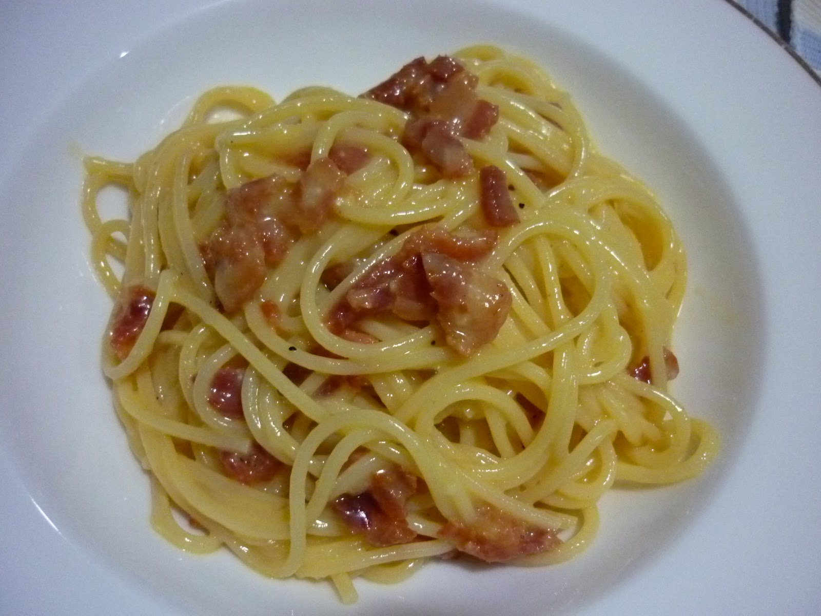 Lia 39 s food journey italian carbonara for Avventura journeys in italian cuisine