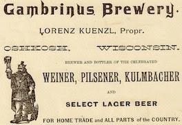 Gambrinus Brewery 1888