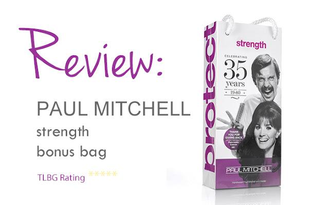 Review: Paul Mitchell Bonus Bag Strength
