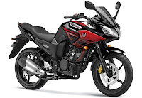 2013 Yamaha Fazer Streak Red
