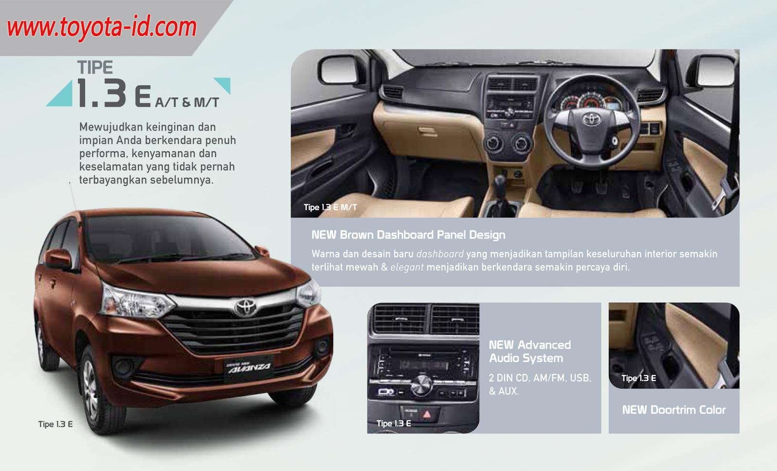spesifikasi toyota grand new avanza 2015 | toyota astra indonesia