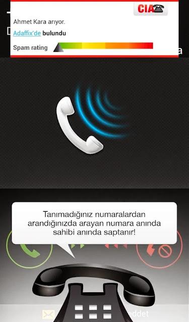 Android CIA -Caller Identification Apk resimi 4