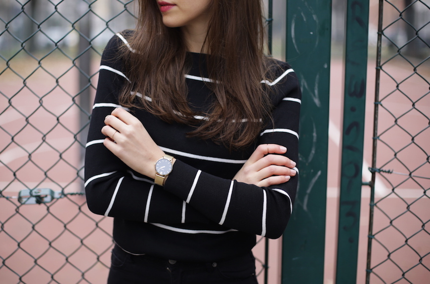cluse watch fashion blogger