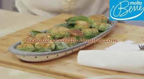 Frittelle salate alla ricotta ricetta Parodi per Molto Bene su Real Time