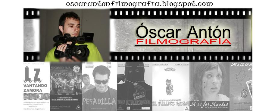 Óscar Antón Filmografía