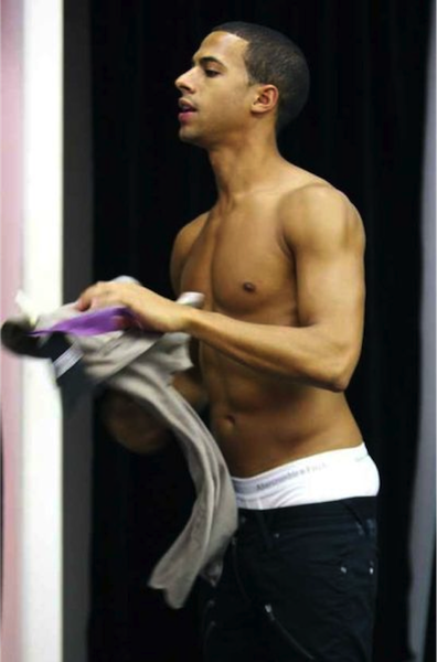 Marvin Humes Shirtless