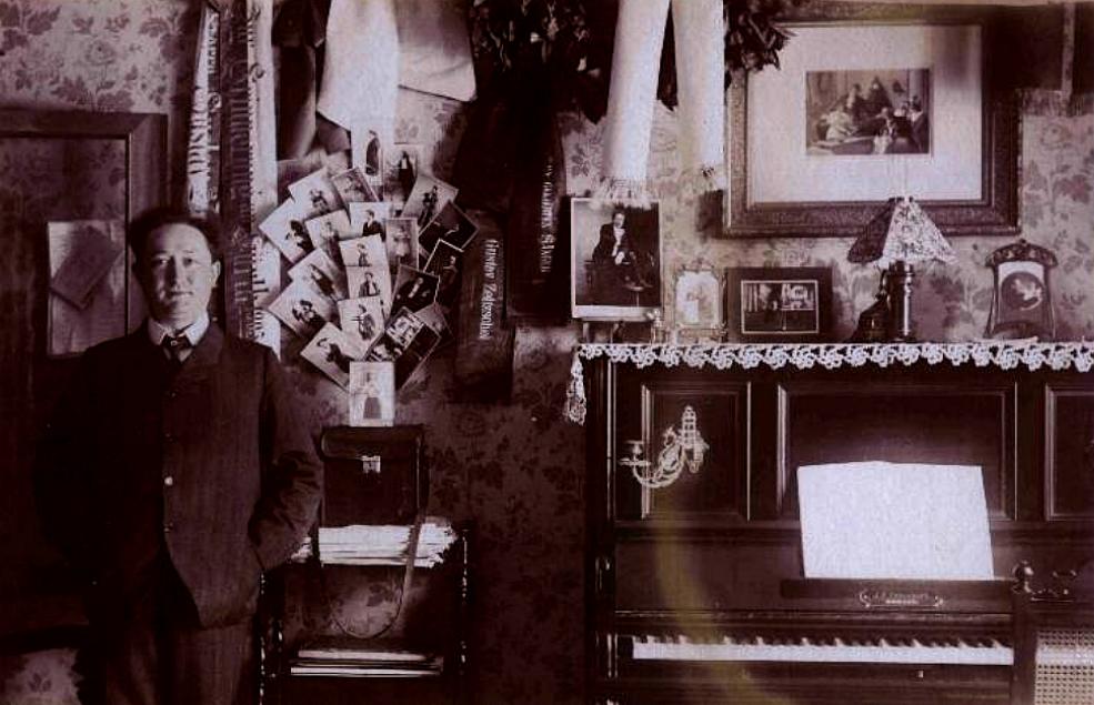 Gustav A. Zeitzschel (*1868 - †1951) Opernsänger