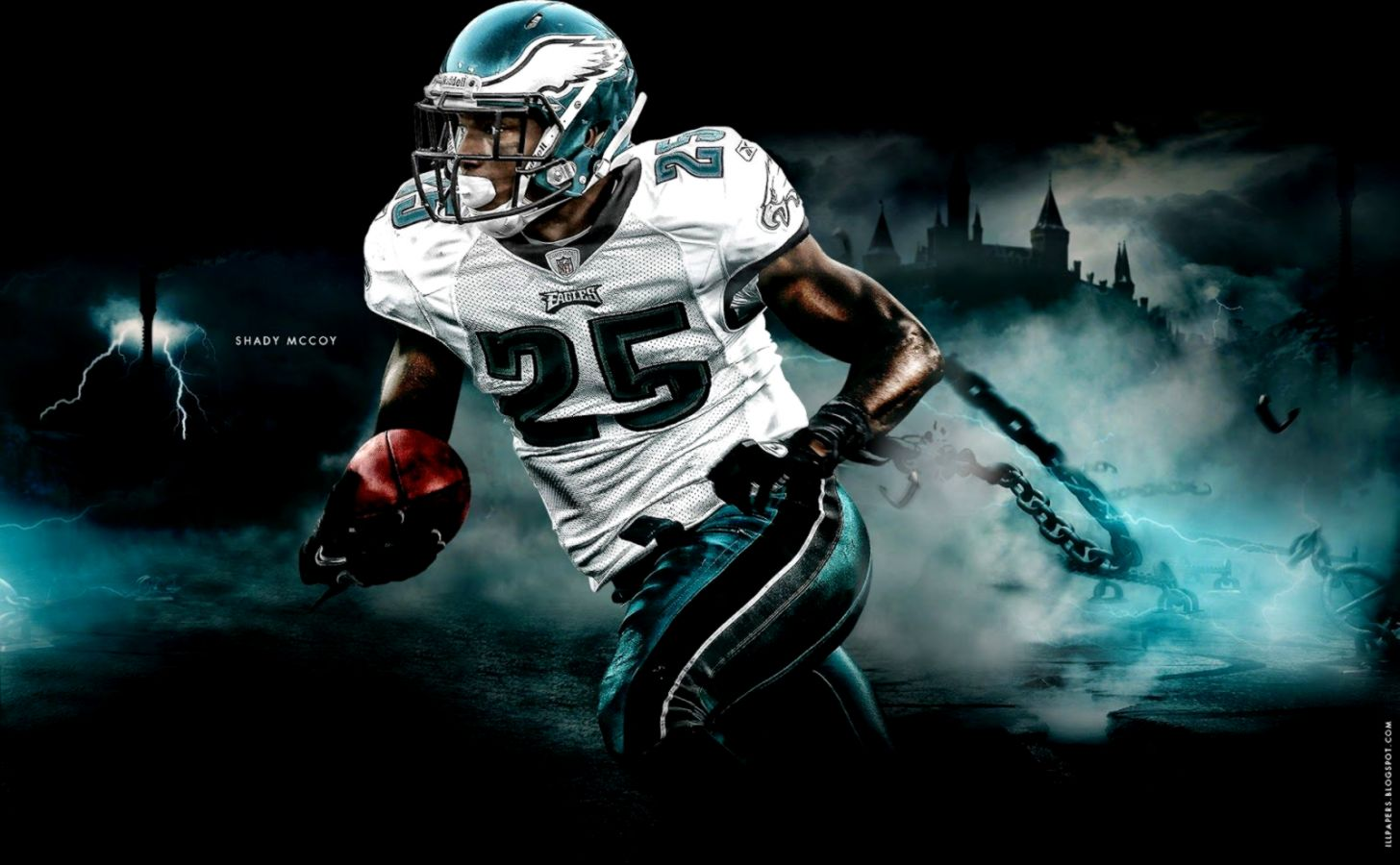 Lesean Mccoy Graphic Design Hd Wallpaper View Wallpapers