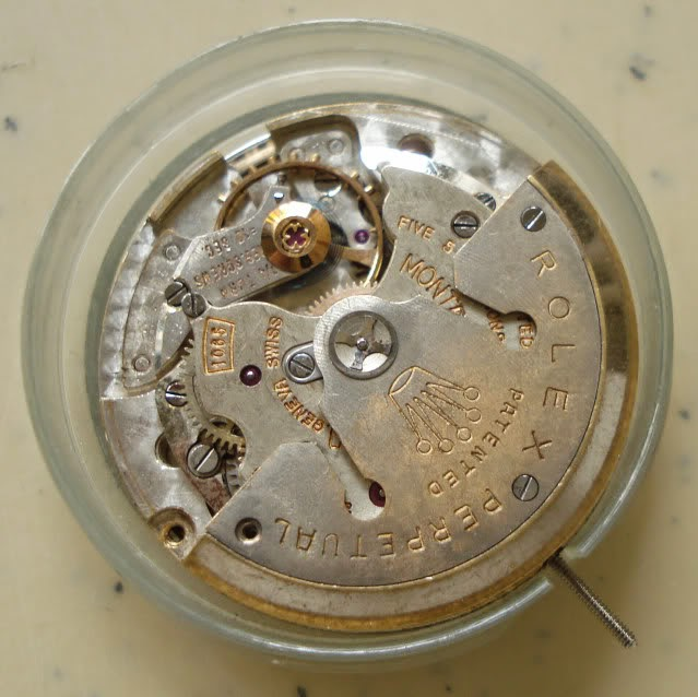 Bruno \u0026 Hancock Vintage Rolex Caliber 1065 Watch Movement