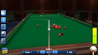 Screenshots of the Pro Snooker 2015 for Android tablet, phone.