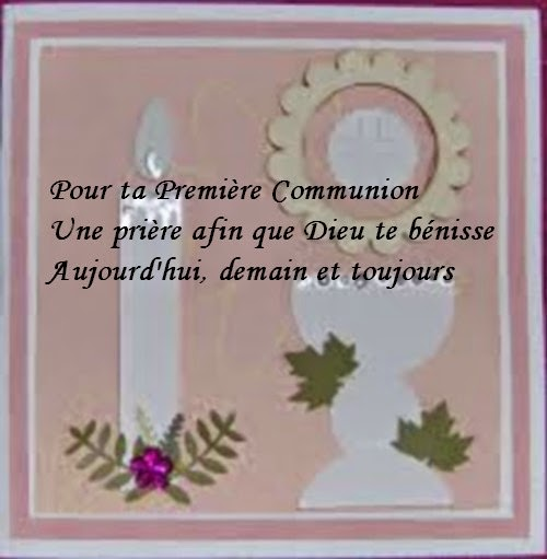 Assez Top du Meilleur: Prière Et Texte Carte Communion A Imprimer Gratuit II64