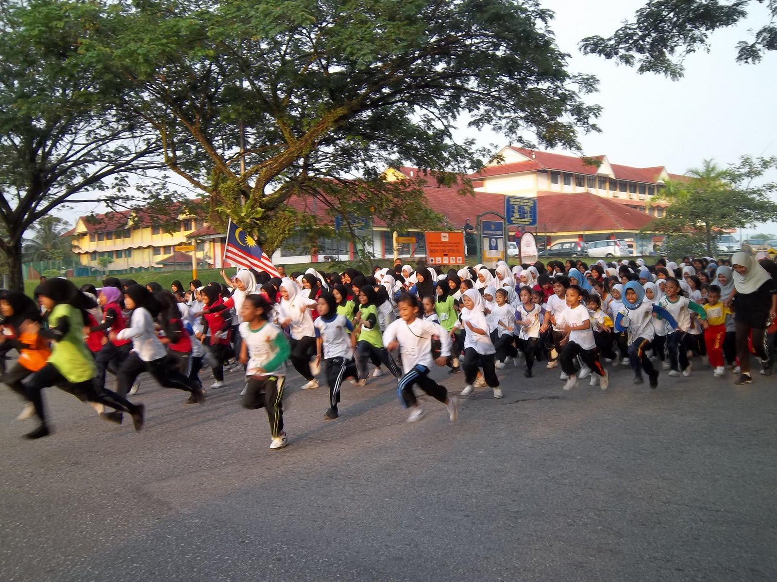 Batang Kali Malaysia  city photos : SK BANDAR BARU BATANG KALI: 1 Murid 1 Sukan 1 Malaysia