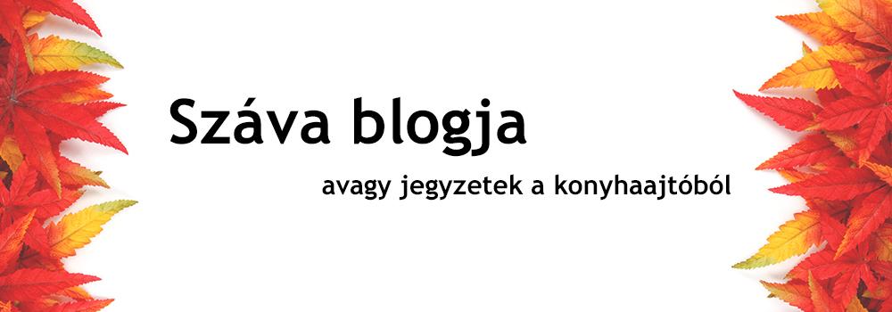 Száva blogja