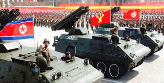 Gambar kekuatan militer Korea Utara Di Dunia