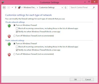 Cara Mengaktifkan Windows 8 Firewall