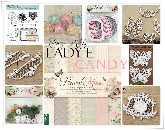 Lady E Scrap Art candy
