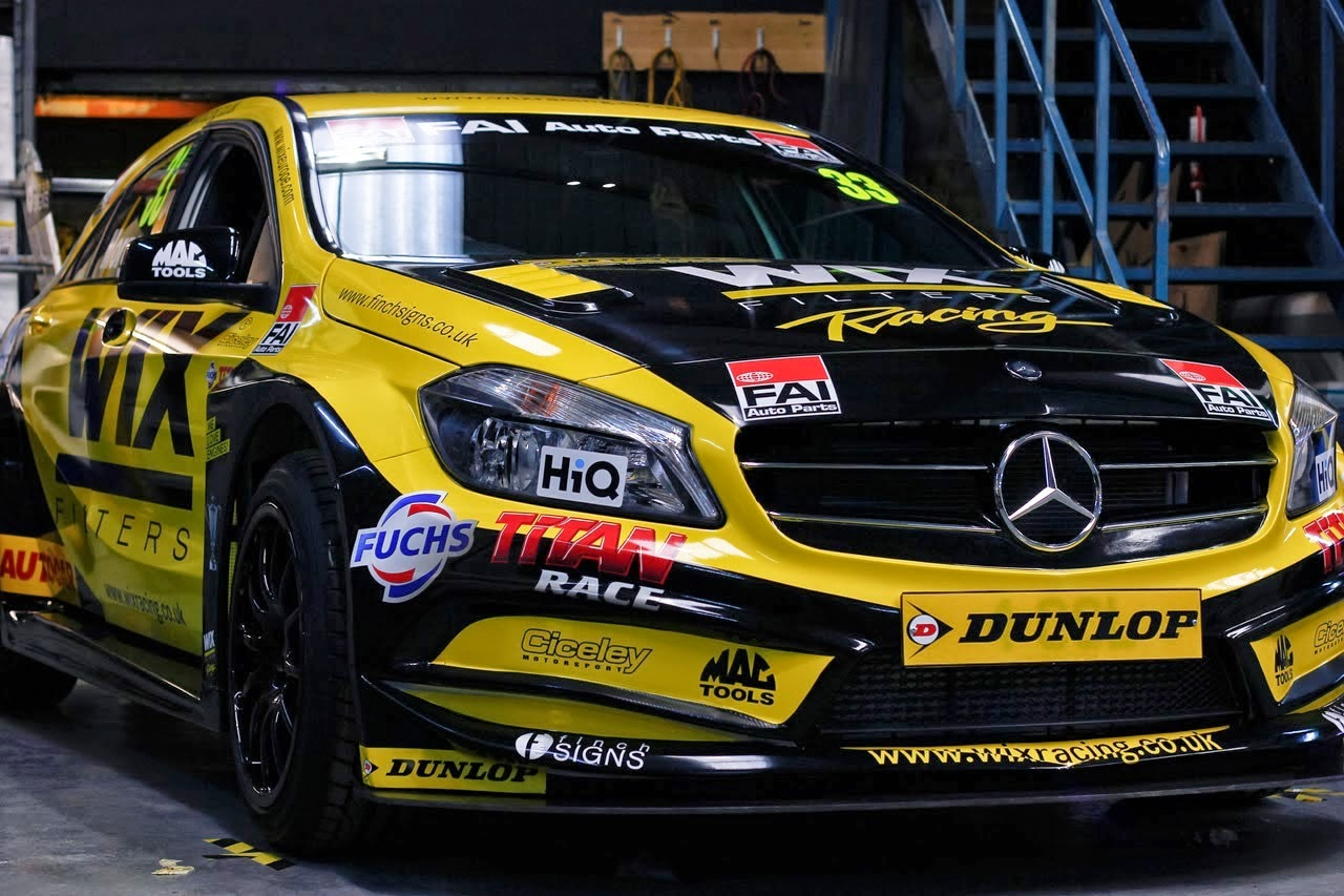 wix racing mercedes benz a45amg btcc benztuning. Black Bedroom Furniture Sets. Home Design Ideas
