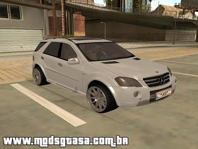 Mercedes-Benz ML 63 para GTA San Andreas