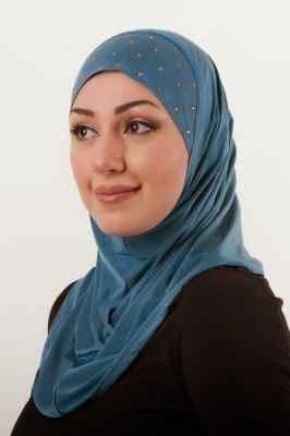 cara memakai jilbab modern dan gambarnya