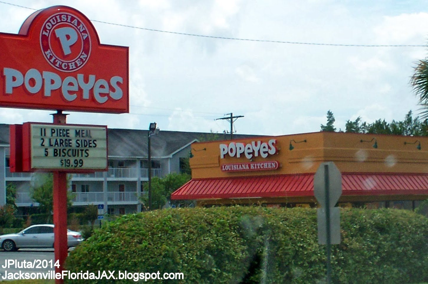 Popeyes Louisiana Kitchen Food jacksonville florida jax beach restaurant attorney bank hospital