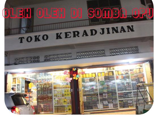 Pengalaman membeli oleh-oleh di toko keradjinan somba opu makassar